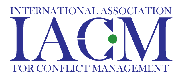 2019 International Association for Conflict Management Conference
